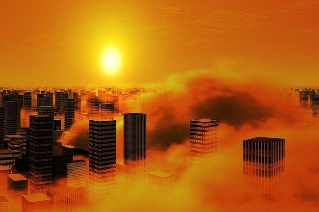 city- pollution